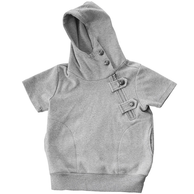 The Crescent - Luxe Jacket Hoodie Strap - Grey