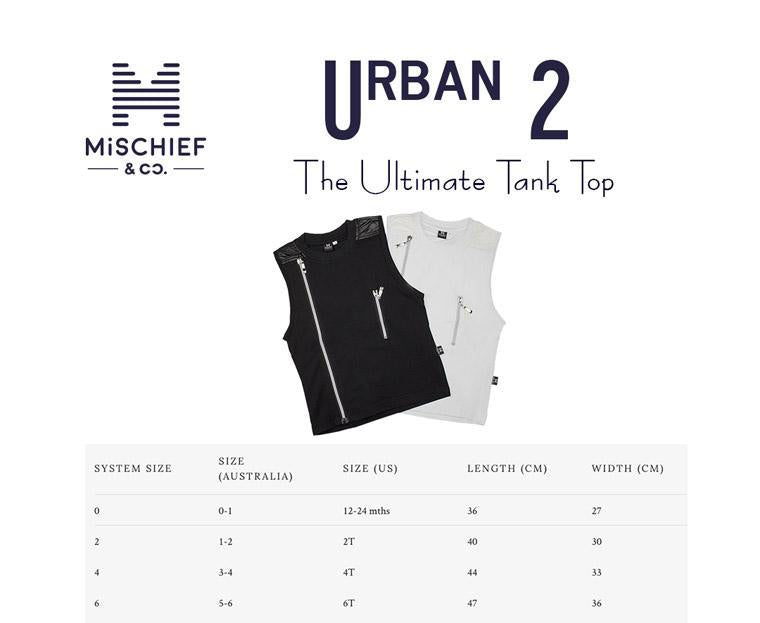 Urban 2 - The Ultimate Tank Top - White