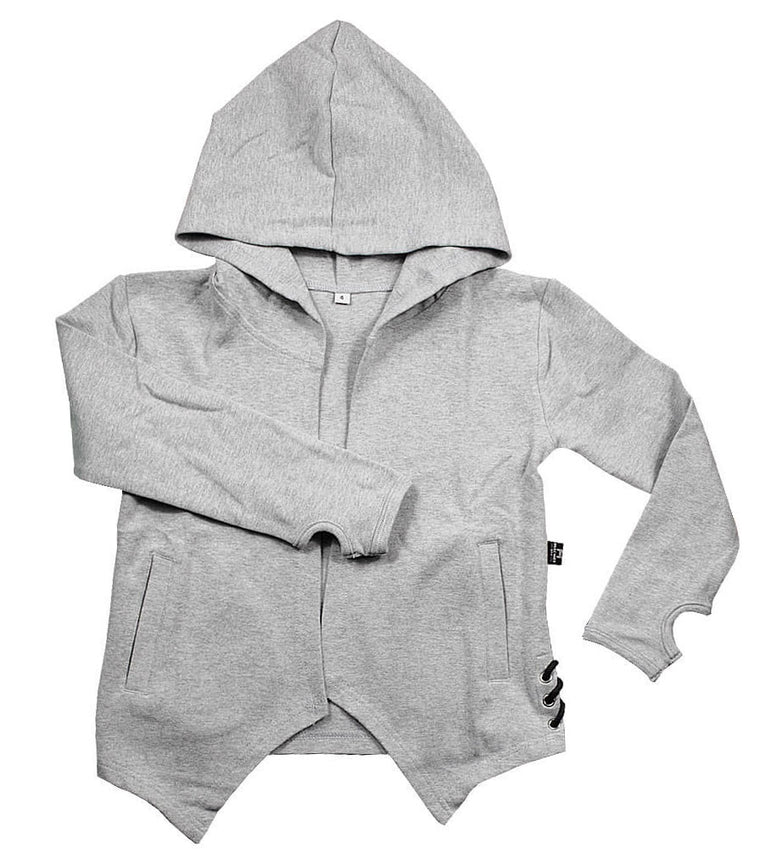 Hooded Cardigan - Fresh Way | Silver Chain Colour