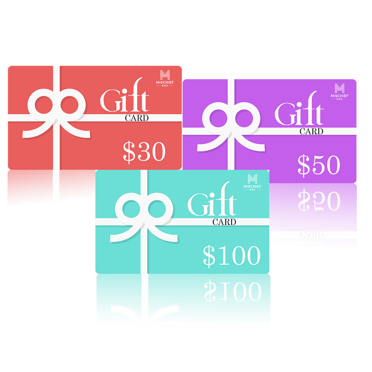 Mischief & Co. Gift Card