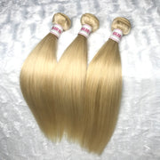 Platinum Blonde STRAIGHT Hair Bundle 3pcs