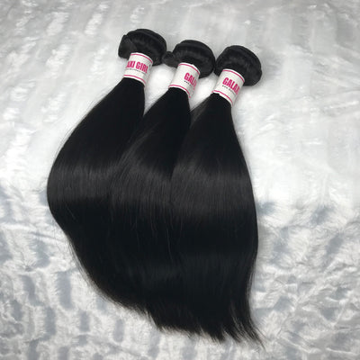 Brazilian STRAIGHT Hair Bundles 3pcs