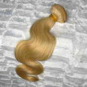 Platinum Blonde BODY WAVE Hair Bundle 1pc
