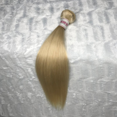 Platinum Blonde STRAIGHT Hair Bundle 1pc