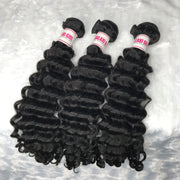 Brazilian DEEP WAVE Hair Bundles 3pcs