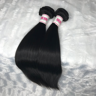 Brazilian STRAIGHT Hair Bundles 2pcs