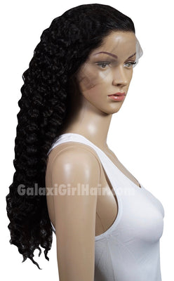 Deep Wave Full Lace Wig 130% Density