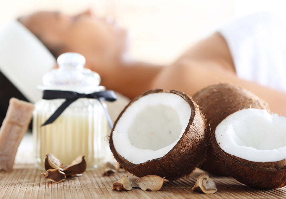 Coconut Oil Spa!