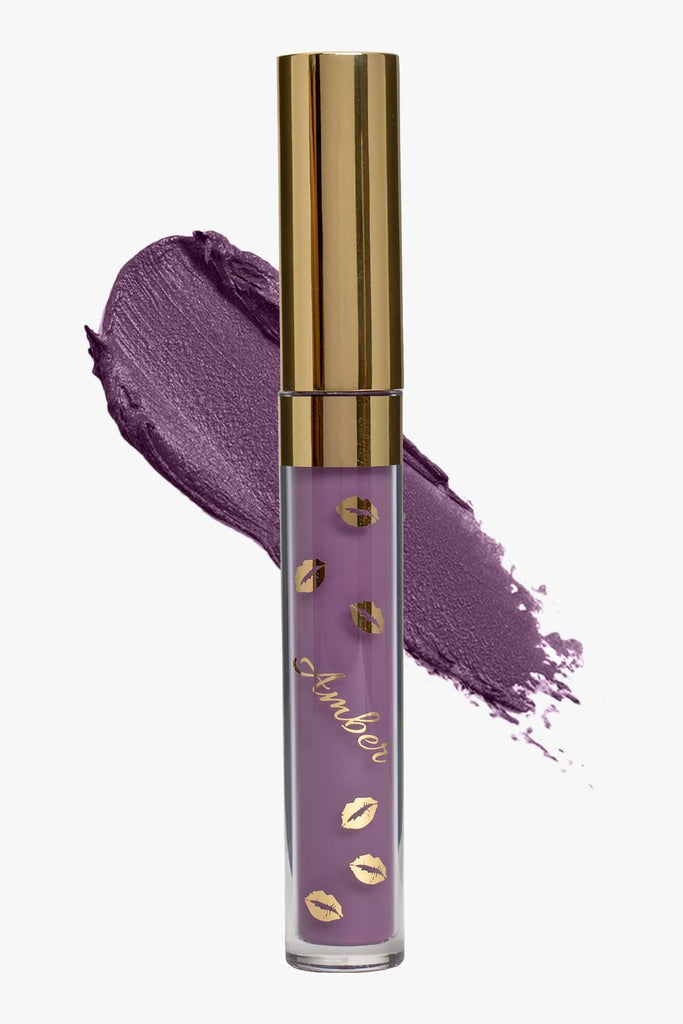 EXOTIC (Lavender) | LIQUID MATTE LIPSTICK | STAYS ALL DAY| SMUDGE PROOF| WATERPROOF| VEGAN & CRUELTY FREE| - Amber Dazzle