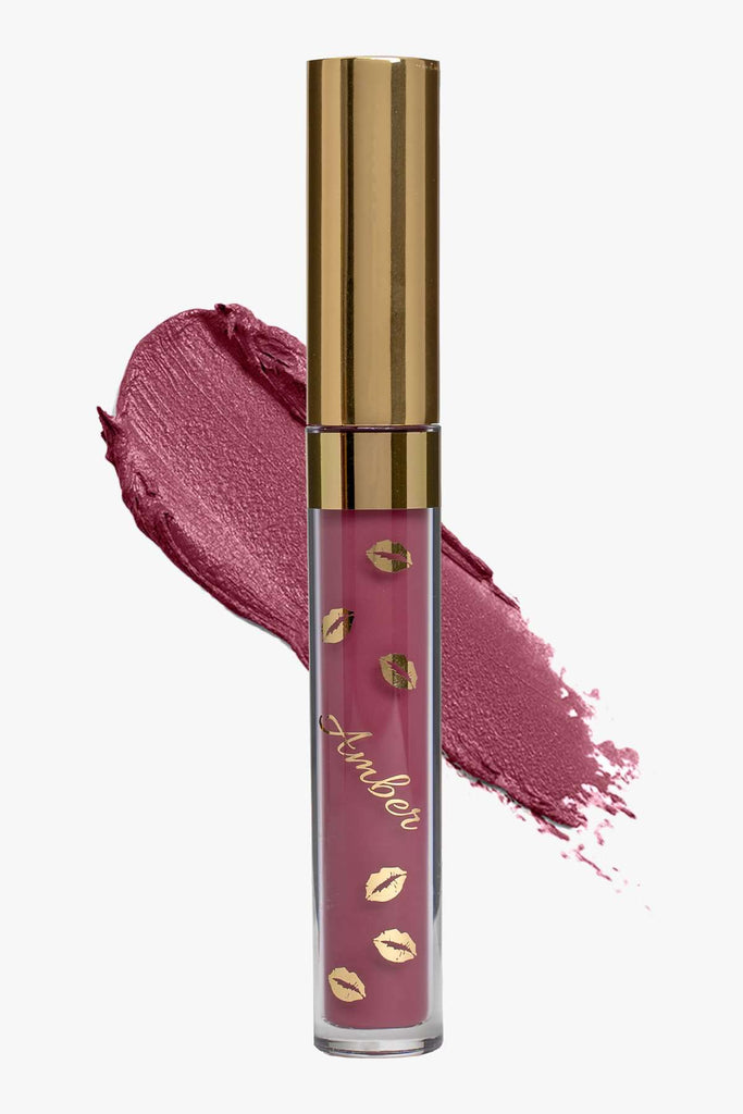 MYSTIQUE (Deep Lavender) LIQUID MATTE LIPSTICK | STAYS ALL DAY| SMUDGE PROOF| WATERPROOF| VEGAN & CRUELTY FREE| - Amber Dazzle