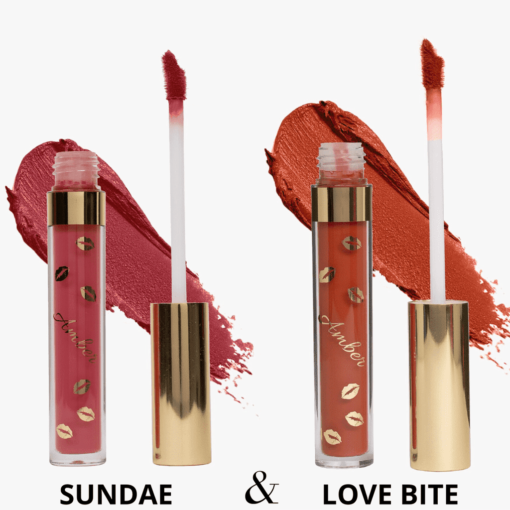 Sundae & Love Bite Liquid Matte