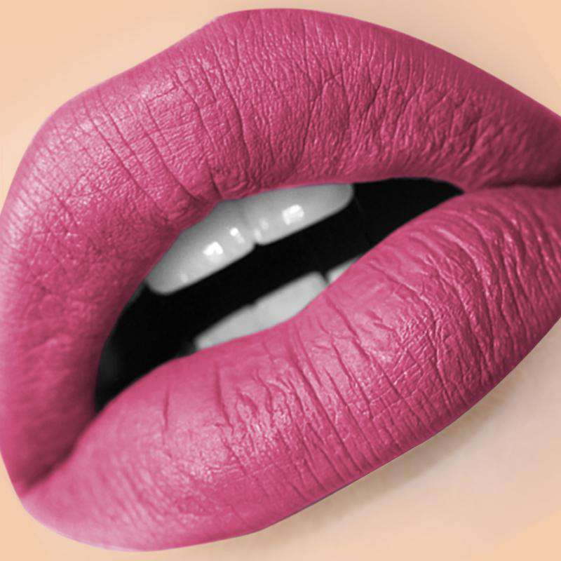 BOLD (Deep Purple) LIQUID MATTE LIPSTICK | STAYS ALL DAY| SMUDGE PROOF| WATERPROOF| VEGAN & CRUELTY FREE| - Amber Dazzle