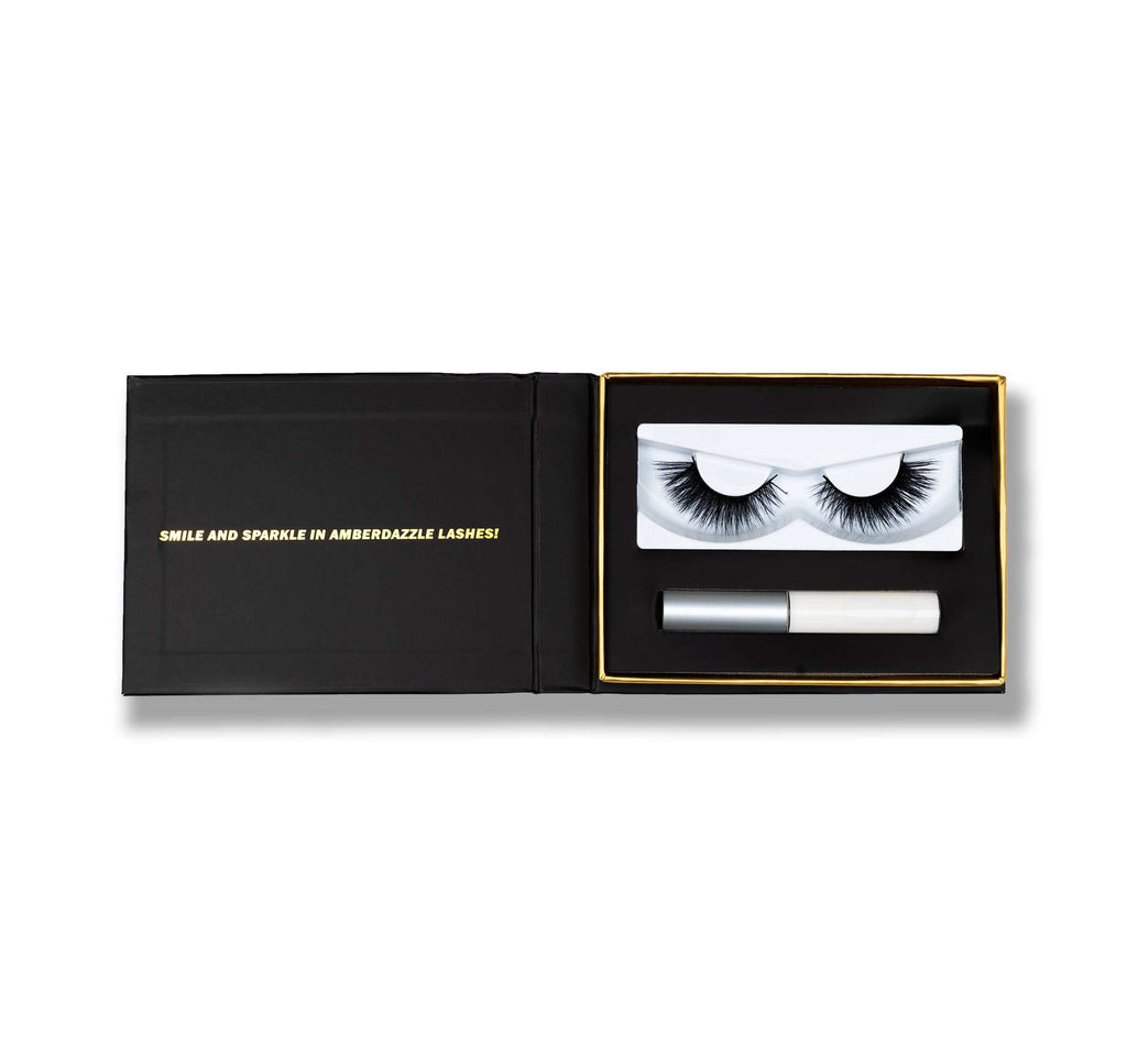 NEWYORK CATWALK EYE LASHES | CRISS CROSS PATTERN | GIVES VOLUME & LENGTH | - Amber Dazzle