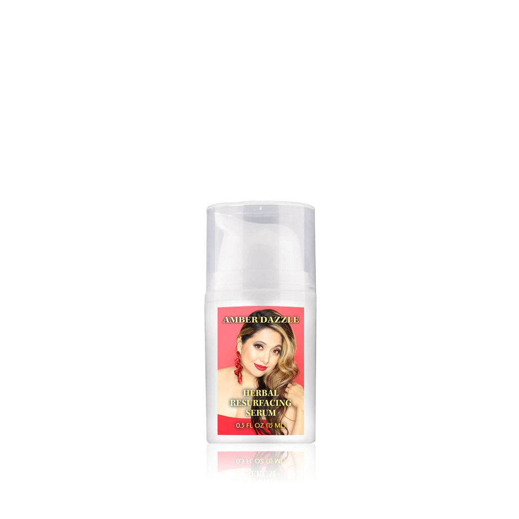 Herbal Resurfacing Face Serum | Protects skin from free radicals | Helps get rid of facial blemishes and fine lines - Amber Dazzle