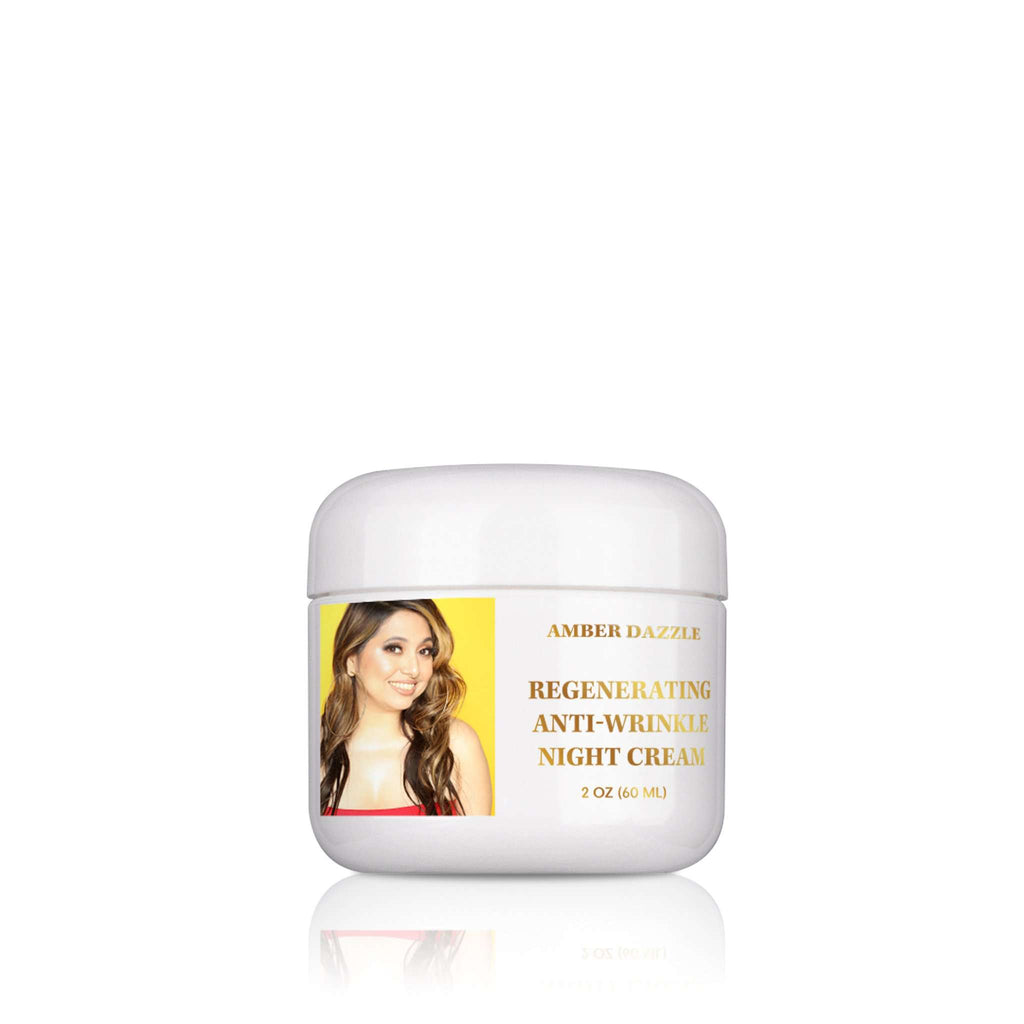 Regenerating Anti-Wrinkle Night Cream - Amber Dazzle