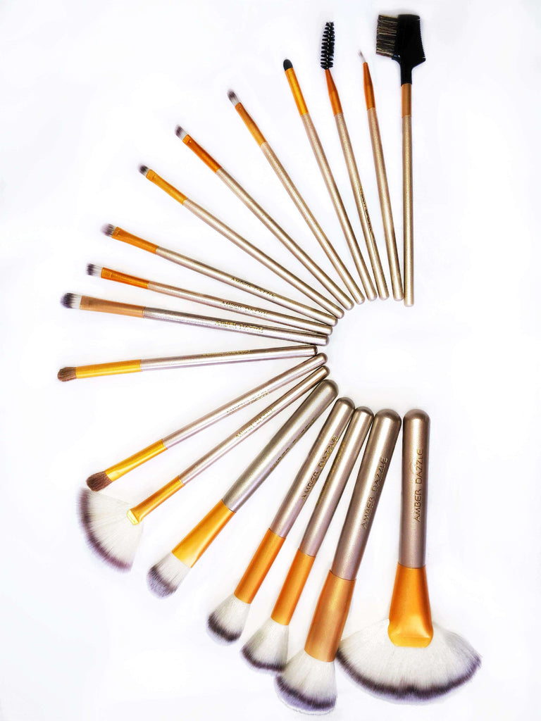 The Amber Dazzle Brush Set