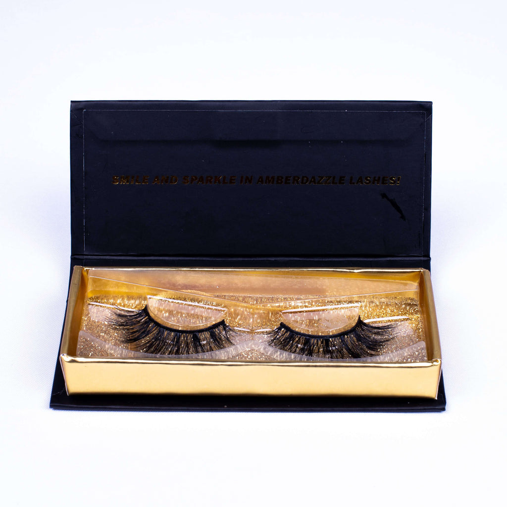 LA PARIS EYE LASHES | REUSABLE | LIGHTWEIGHT | - Amber Dazzle
