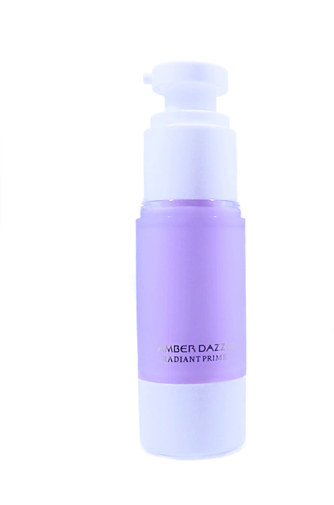 Radiant Primer | Gives skin an instant radiant and fresh look | Keeps skin moist and minimizes pores| - Amber Dazzle