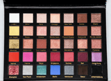 AMBER DAZZLE FASHION RUNWAY EYESHADOW PALETTE | 35 COLORS EYESHADOW PALETTE|