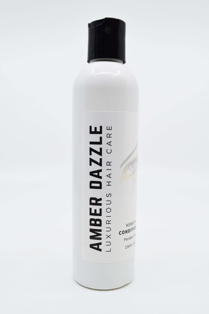 AMBER DAZZLE KERATIN CONDITIONER - LUXURIOUS HAIR CARE