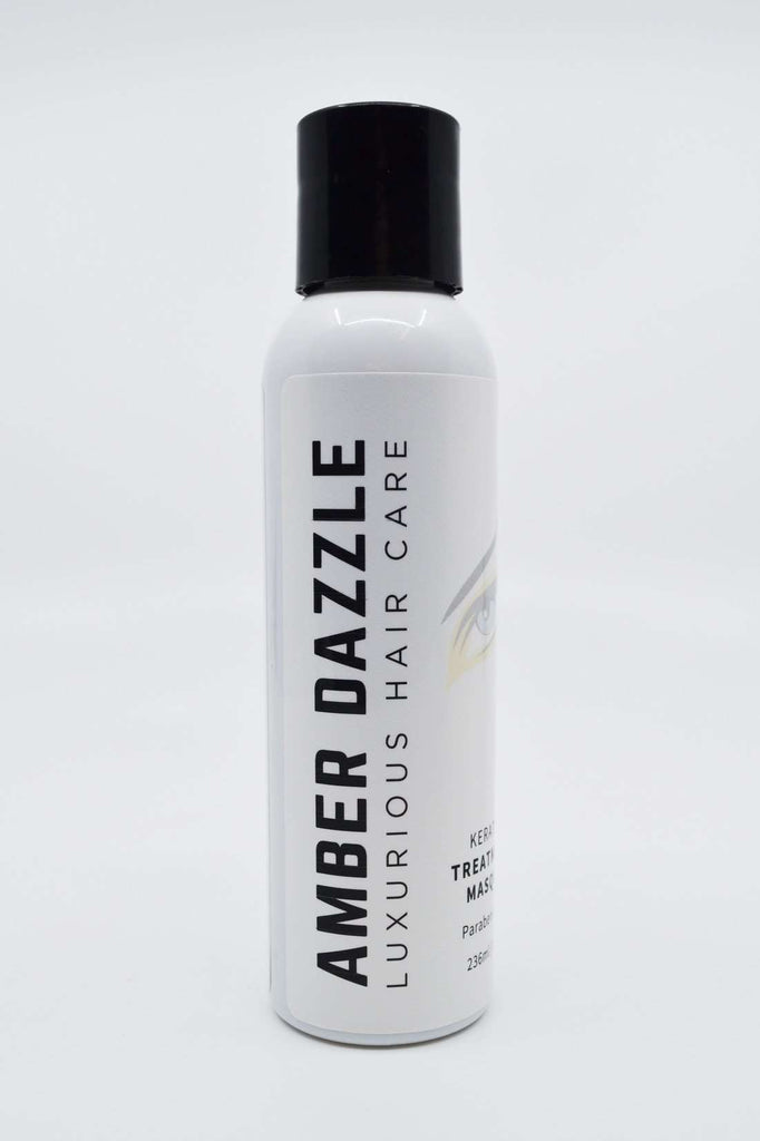 AMBER DAZZLE KERATIN MASQUE : LUXURIOUS HAIR CARE