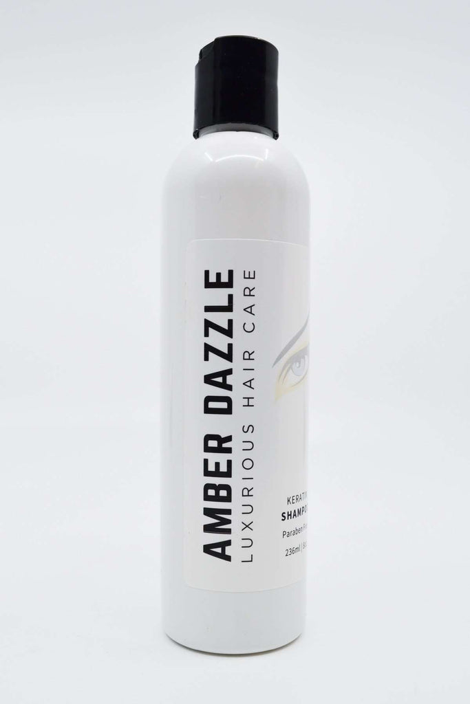 AMBER DAZZLE KERATIN SHAMPOO - LUXURIOUS HAIR CARE