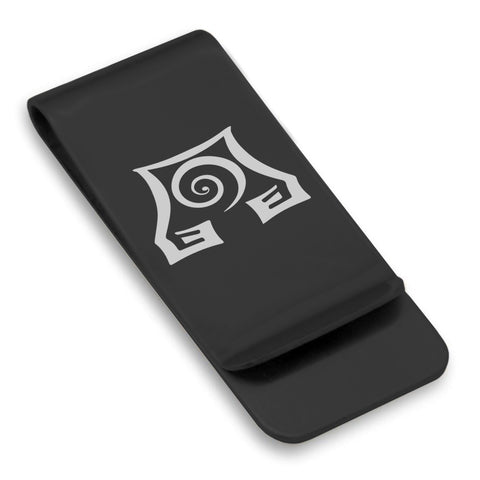 Stainless Steel Earth Element Classic Slim Money Clip