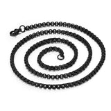 Stainless Steel Fire Element Dog Tag Pendant - Comfort Zone Studios