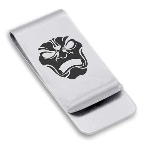 Stainless Steel Persian Immortal Warrior Champion Classic Slim Money Clip