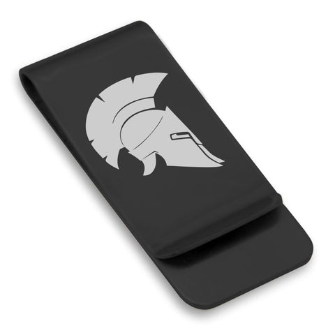 Stainless Steel Spartan Warrior Champion Classic Slim Money Clip
