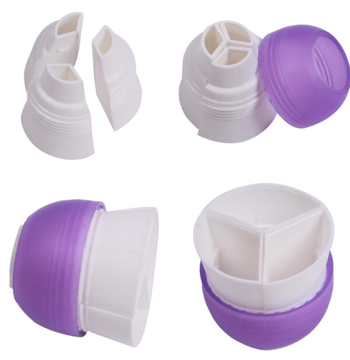 3 Color Cake Piping Cream tool