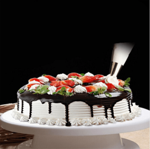 11*28cm Cake Decorating stand. Rotating 360 degrees.