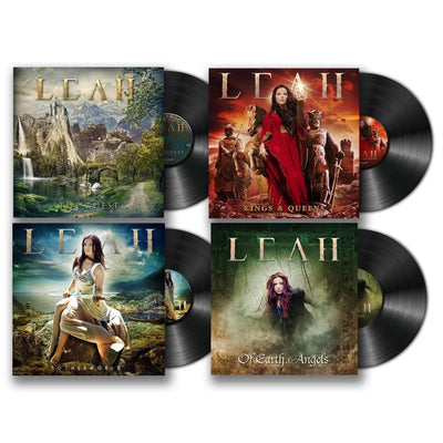 Celtic Metal LP QUARTET Bundle