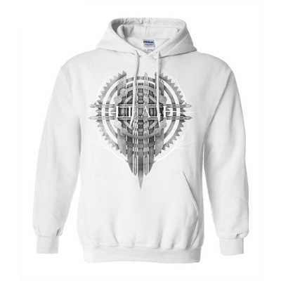 Celtic Runic Shield Pullover Hoodie