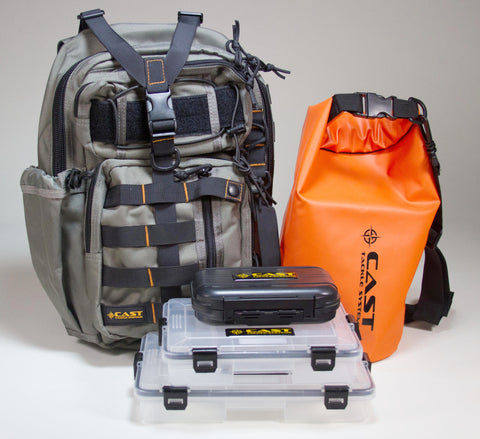 """Torrey"" Tactical Sling Pack - Standard Fishing System"