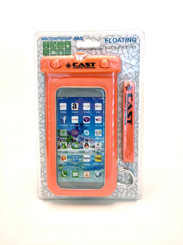 Waterproof, floating, phone, tech pouch.