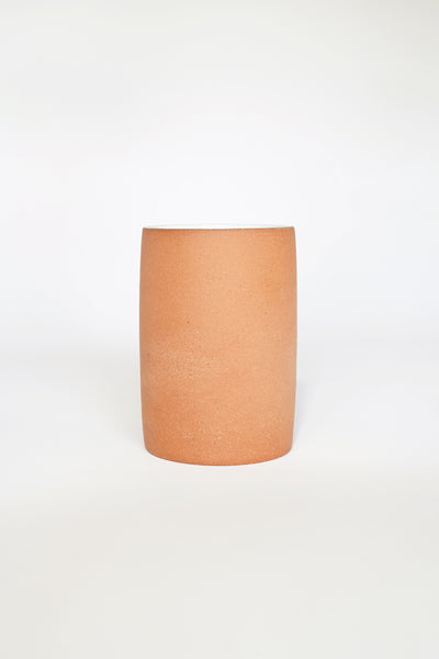 LARGE SIMPLE TERRACOTTA CUP