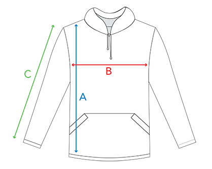 Measure for Hoodie