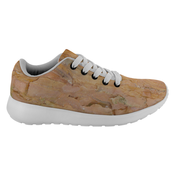 Shoes that look  like Tree Bark - Deep Rust Tree Bark - Running Shoes