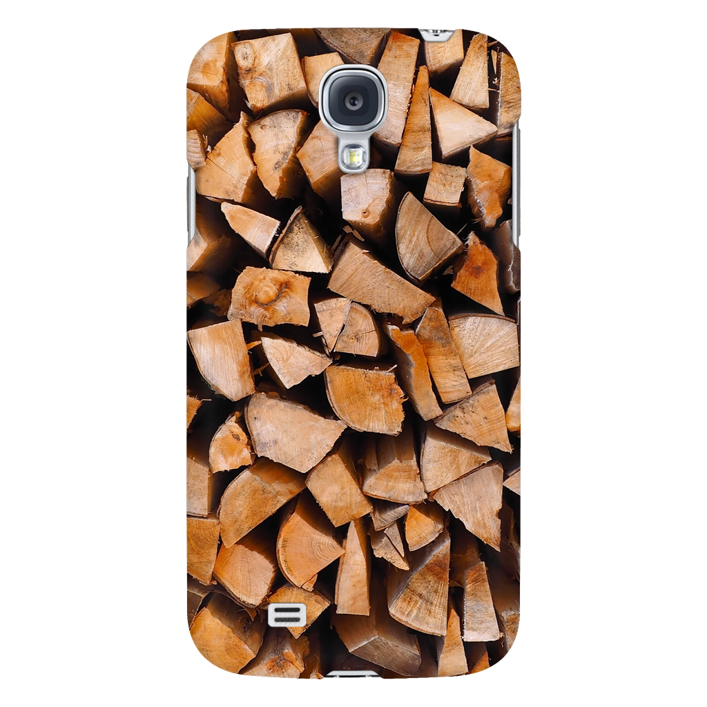 Stacked Firewood - Phone Case