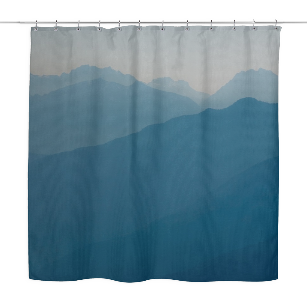 Blue Mountains - Shower Curtain