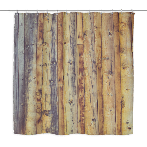 Boardwalk Boards - Shower Curtains