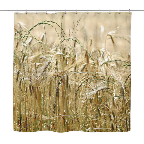 Mixed Grass - Shower Curtain