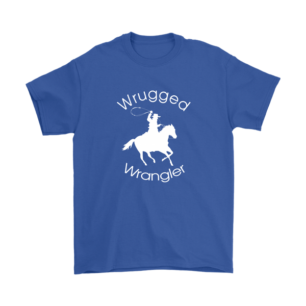 Wrugged Wrangler Men's T-Shirt - Royal Blue