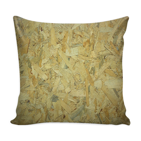 Wood Chips - Pillow Cover 16x16