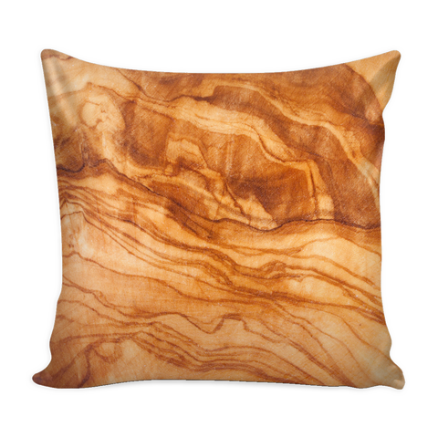 Wood Grain - Olive - Pillow Cover 16x16