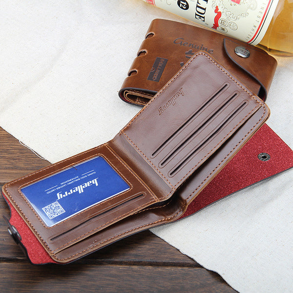 Quality Men's Wallet Multi Card Holder Leather Combo