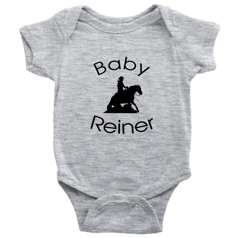 Baby Reiner Baby Bodysuit - Heather