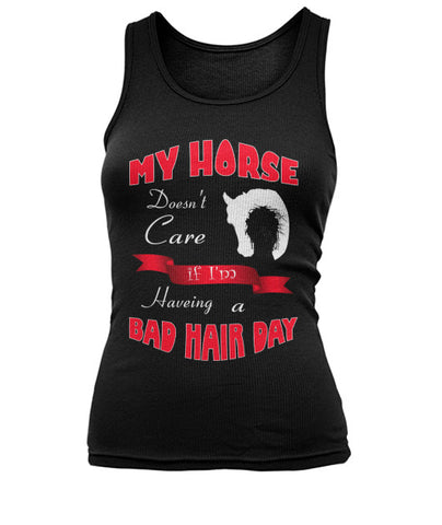 Bad Hair Day -V1- Tank Tops