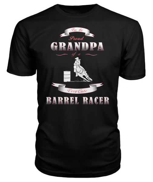 Proud Grandpa Of Barrel Racer -T-Shirt